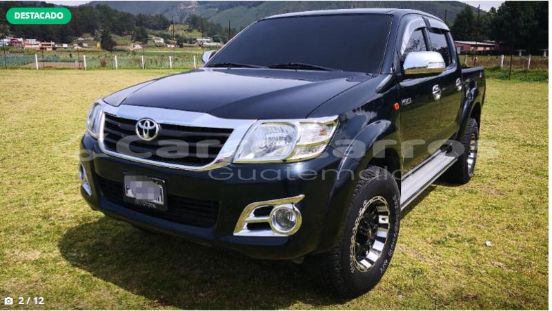 comprar usados carro toyota hilux negro en guatemala en guatemala Carros Usados Toyota En Guatemala big with watermark 6 66
